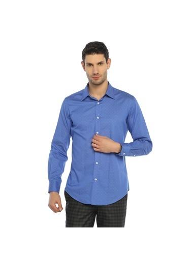 Comienzo Gömlek Mavi